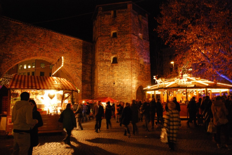 Weihnachtsmarkt, Sendlinger Tor, München, Christkindlmarkt