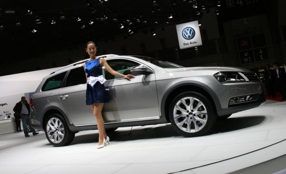 Schwere Wiedergeburt VW Passat Alltrack Tokyo Motor Show