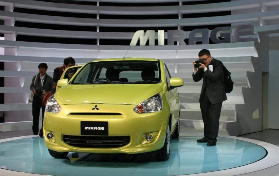 Schwere Wiedergeburt Mitsubishi Mirage Tokyo Motor Show