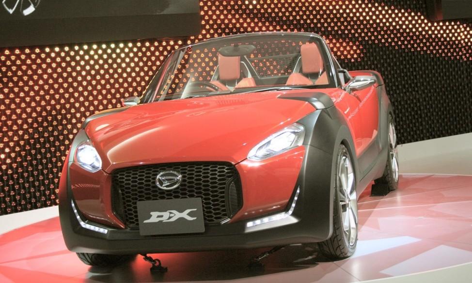 Schwere Wiedergeburt Daihatsu DX Concept Tokyo Motor Show