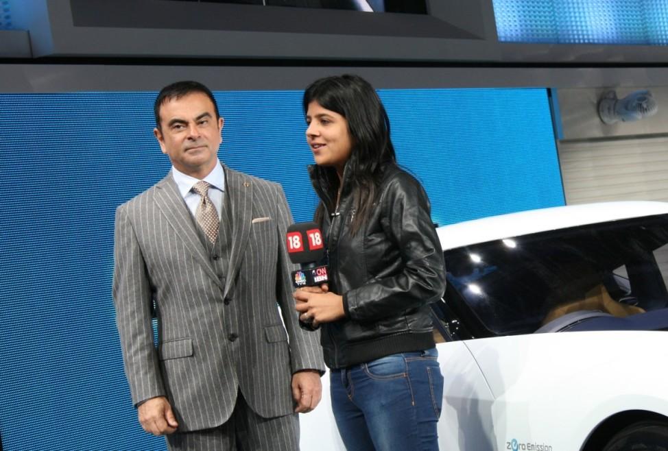 Schwere Wiedergeburt Nissan Carlos Ghosn Tokyo Motor Show