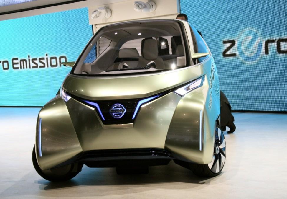 Schwere Wiedergeburt Nissan Pivo3 Tokyo Motor Show