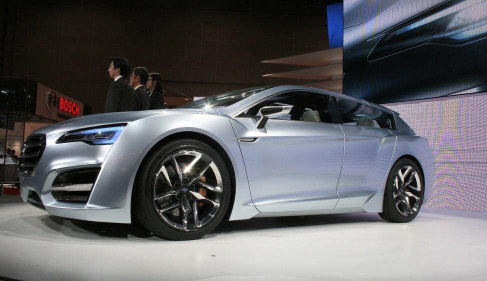 Schwere Wiedergeburt Subaru Advanced Tourer Concept Tokyo Motor Show
