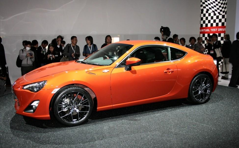 Schwere Wiedergeburt Toyota GT 86 Tokyo Motor Show