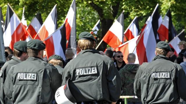 Neonazis Kundgebung in Dortmund