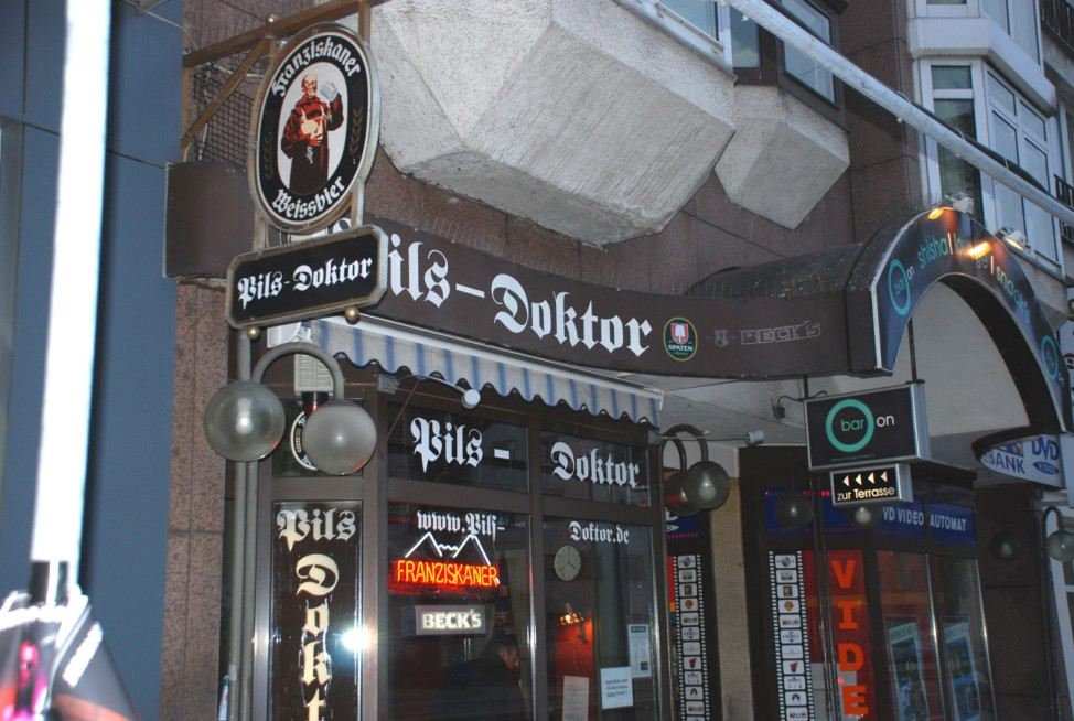 Pils-Doktor, Herbert Hollerer, Leopoldstraße 124, München