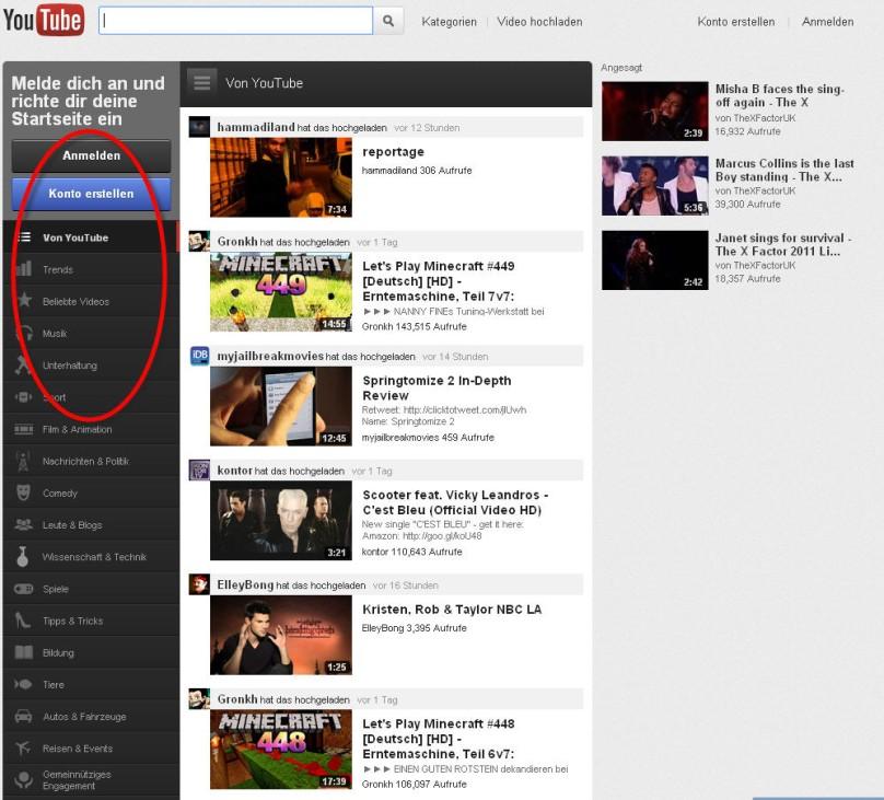 Youtube Relaunch