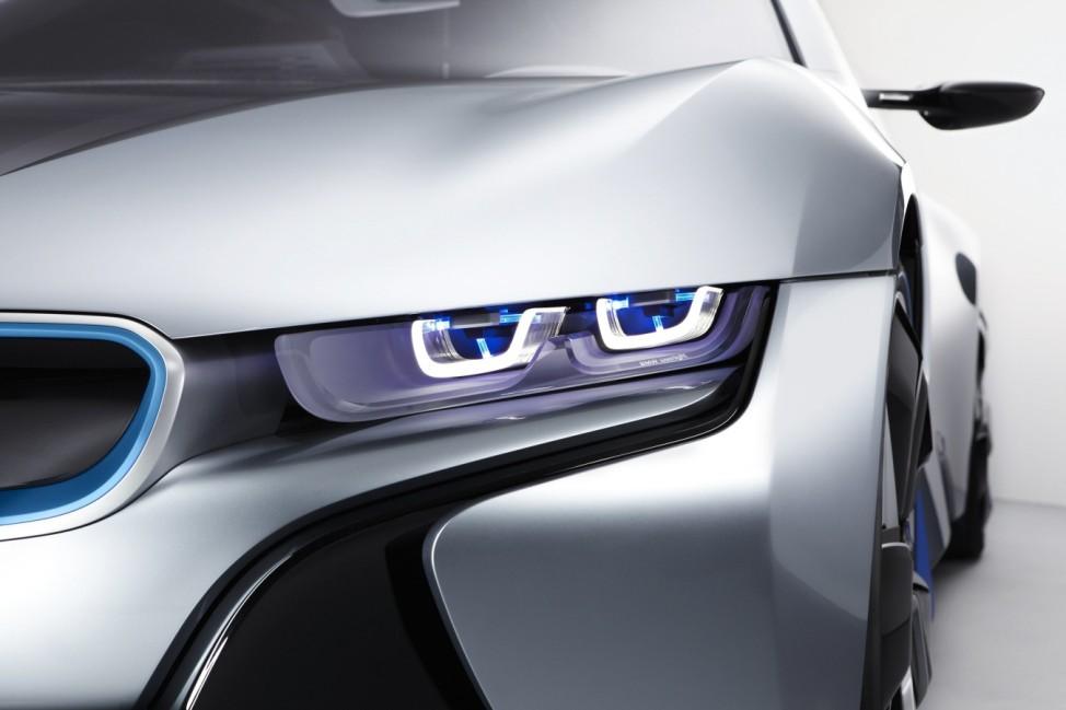 BMW i8 LED-Licht Laserlicht Scheinwerfer