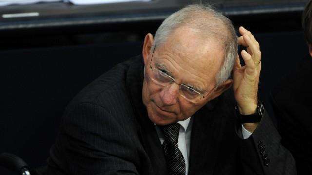 Bundestag - Regierungserklärung und Debatte