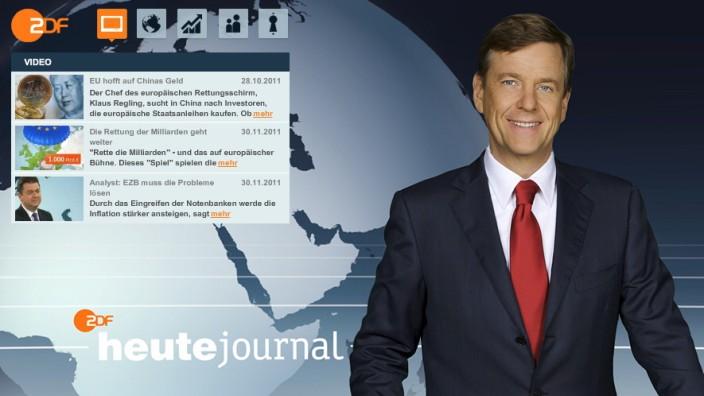 """Claus Kleber """"Heute-Journal"""" ZDF-Anchorman"""