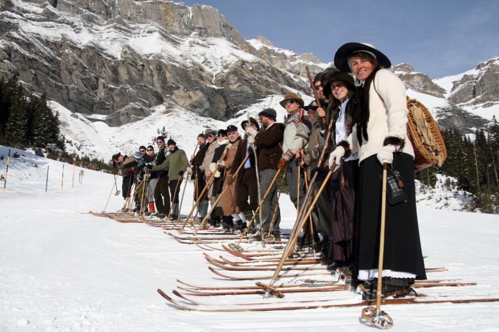 Winterurlaub wie vor 100 Jahren: Belle-Époque-Woche in Kandersteg