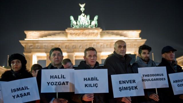 Mahnwache der Türkischen Gemeinde
