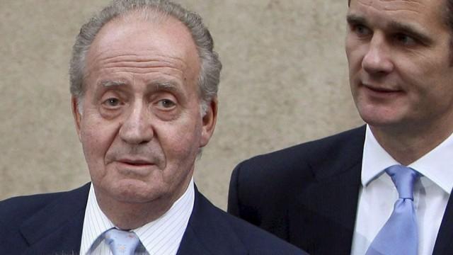 Juan Carlos und Skandal-Schwiegersohn Inaki Urdangarin