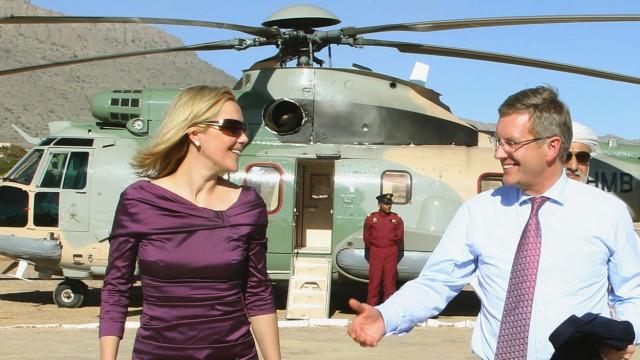 Bundespräsident Wulff im Oman