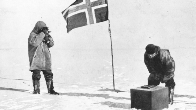 FILE: 100 Years Ago Norwegian Explorer Roald Amundsen Becomes First To Reach South Pole