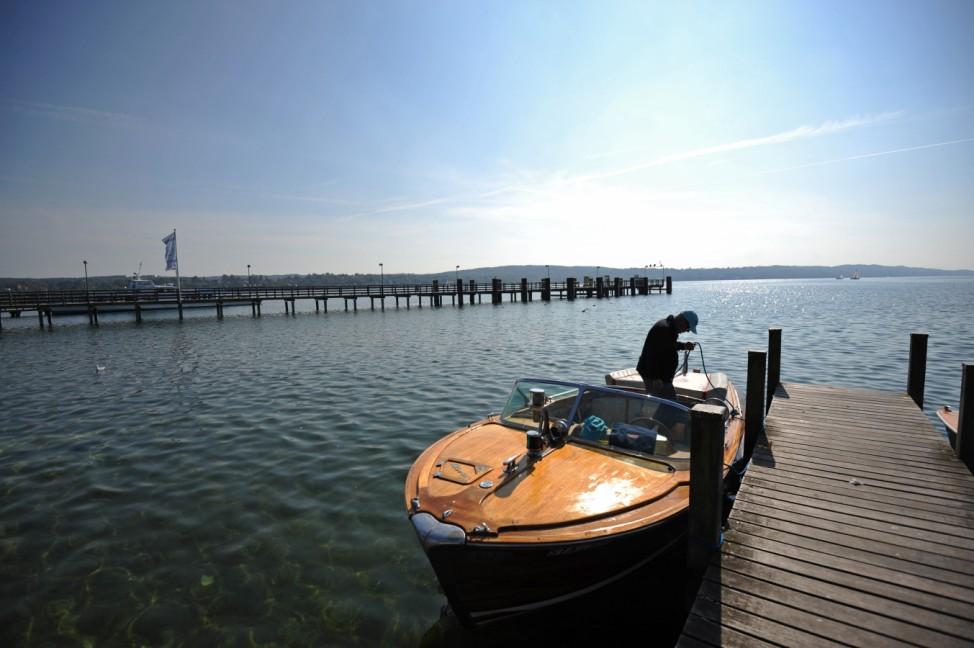 Boot auf dem Starnberger See