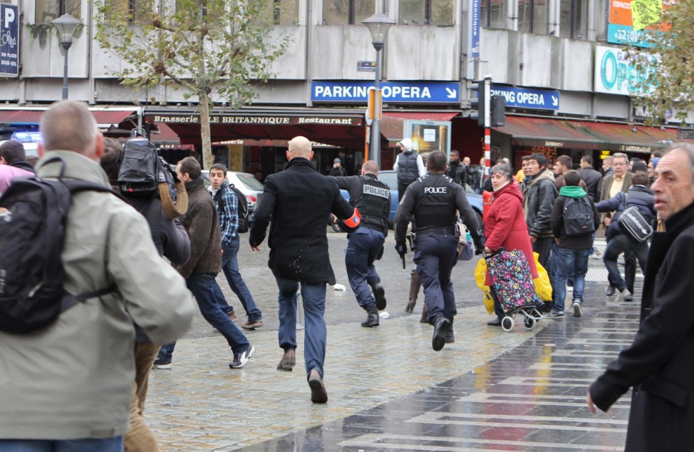 Gunfire in Belgian city after grenade attack