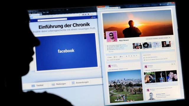 Facebook Chronik-Ansicht in Deutschland gestartet