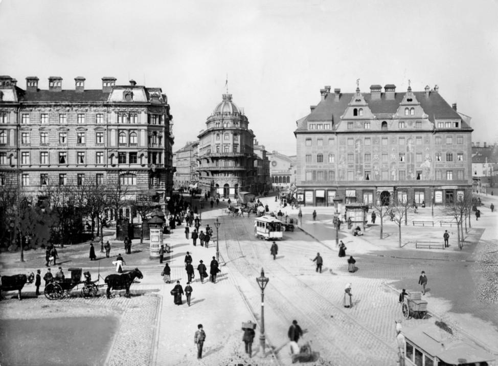 München historisch: Karlsplatz Stachus in München