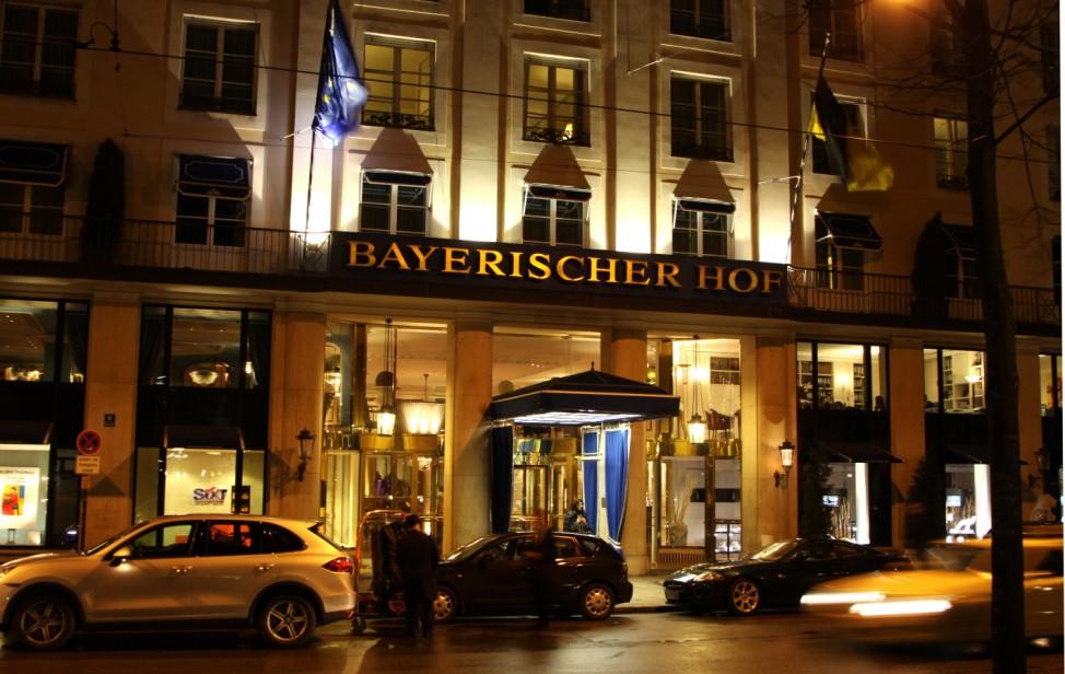 Hotel Bayerischer Hof in München, 2010