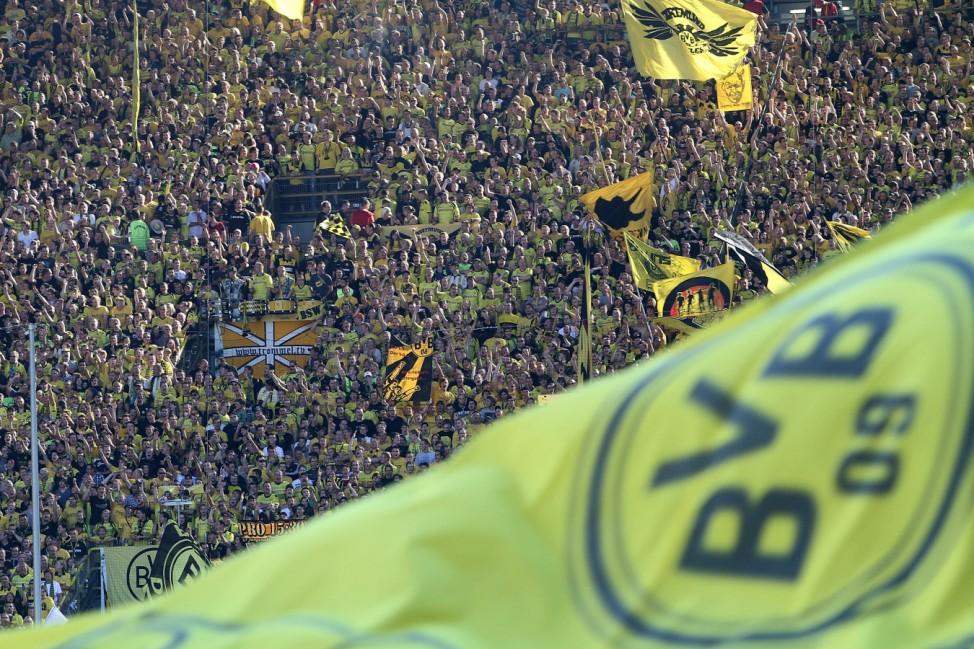 Dortmund hat hoechsten Zuschauerschnitt in Europa