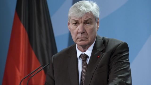 Bundeskanzlerin Merkel empfaengt DGB-Vorsitzenden Sommer