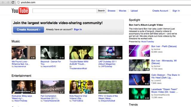 Youtube mit neuem Look und neuen Moeglichkeiten