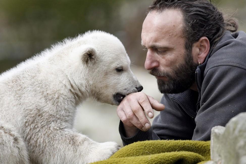 Fuenfter Geburtstag von Eisbaer Knut