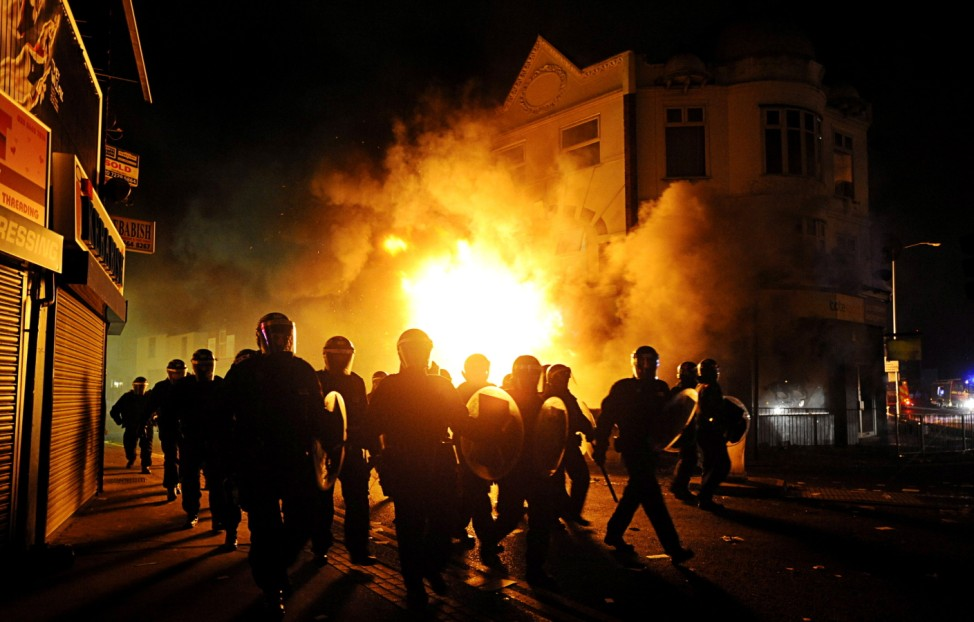 Third night of riots in London