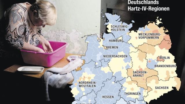 Grafik Armut in Deutschland