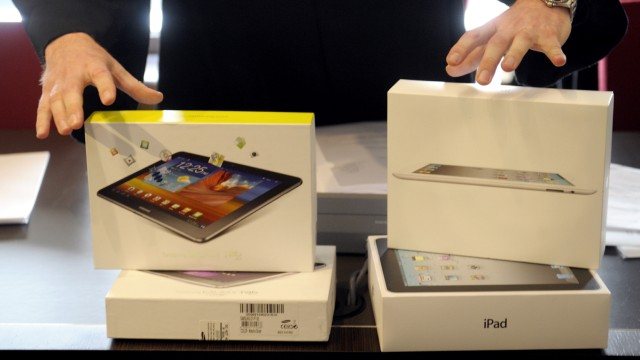 Vorschau: Muendliche Verhandlung im Rechtsstreit zwischen Apple gegen Samsung