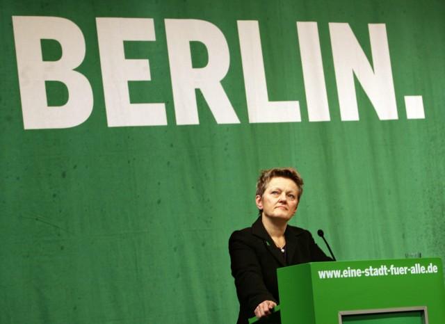 Landesparteitag Berliner Grüne - Künast