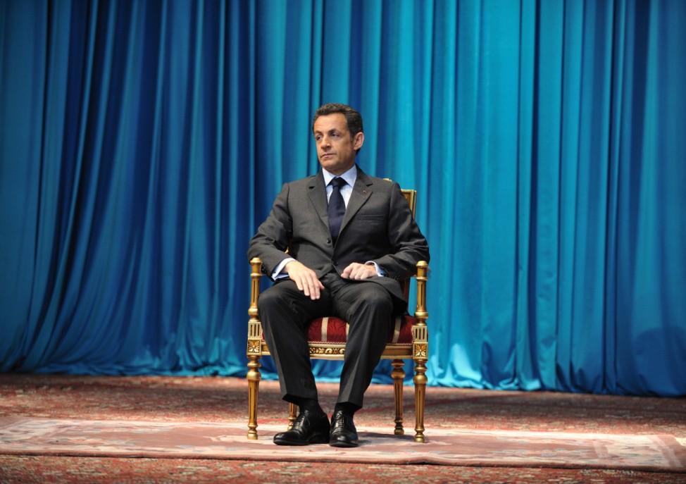 Sarkozy und wie ihn die Welt sieht