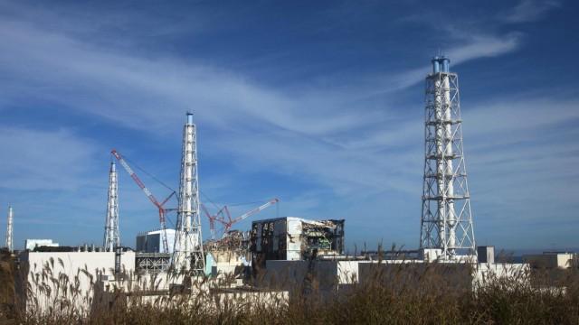 File photo of TEPCO's tsunami-crippled Fukushima Daiichi nuclear power plant in Fukushima prefecture