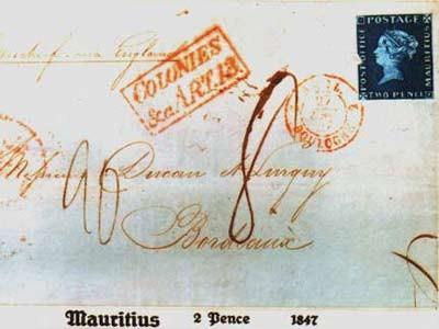 blaue Mauritius, ap