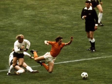 Johan Cruyff,  Berti Vogts, Uli Hoeneß