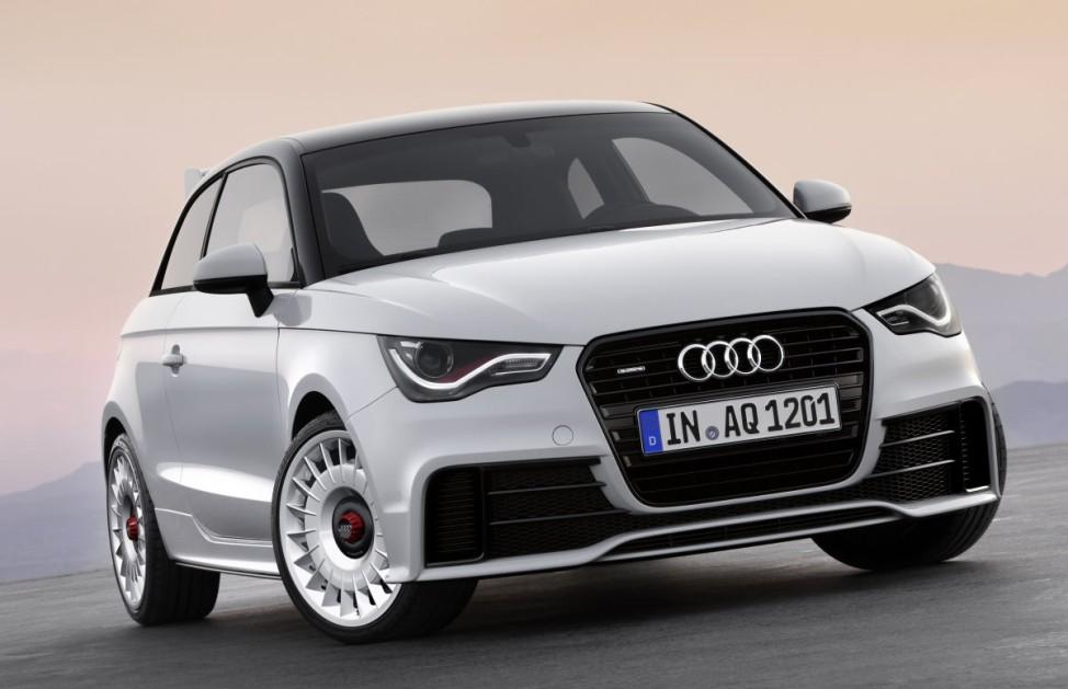 Kleine Klasse Audi A1 quattro