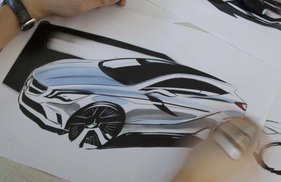 Kleine Klasse Mercedes A-Klasse 2012