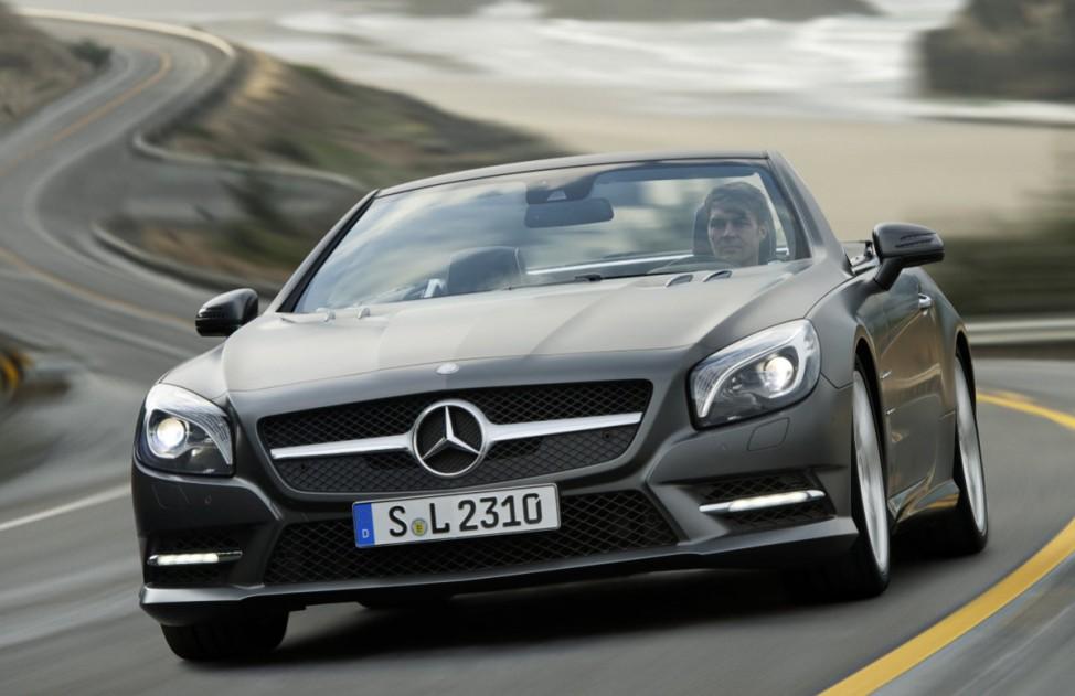 Kleine Klasse Mercedes SL 2012