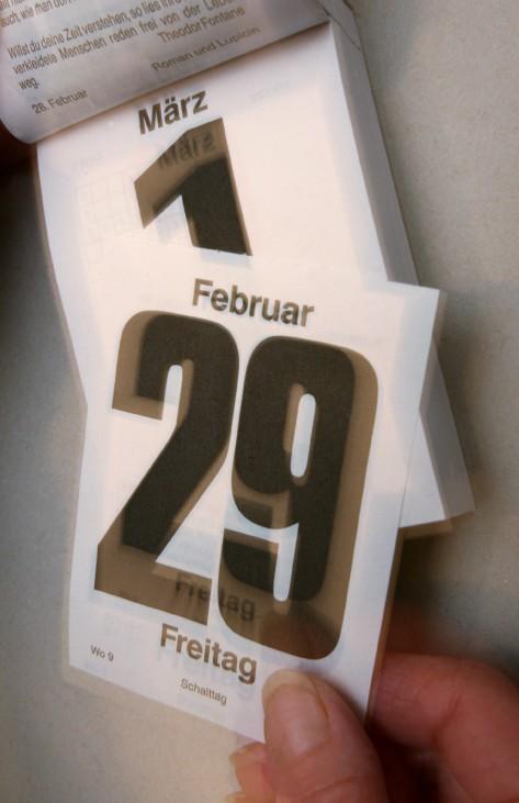 Schalttag 29. Februar