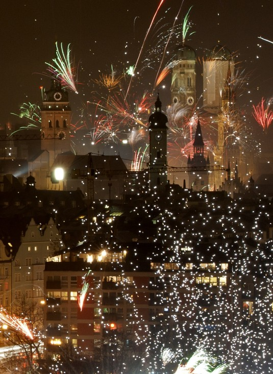 Silvester in Muenchen