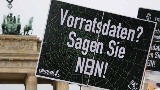 Aktionstag gegen Vorratsdatenspeicherung