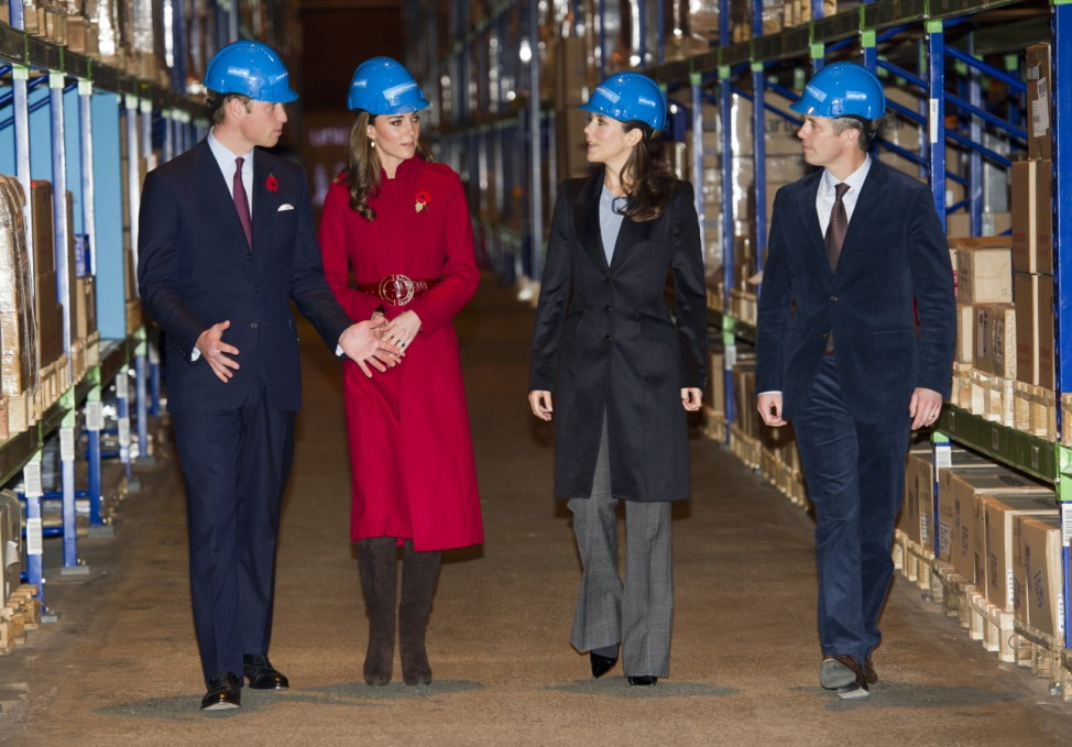 The Duke And Duchess Of Cambridge Visit A Unicef Facility In Denmark