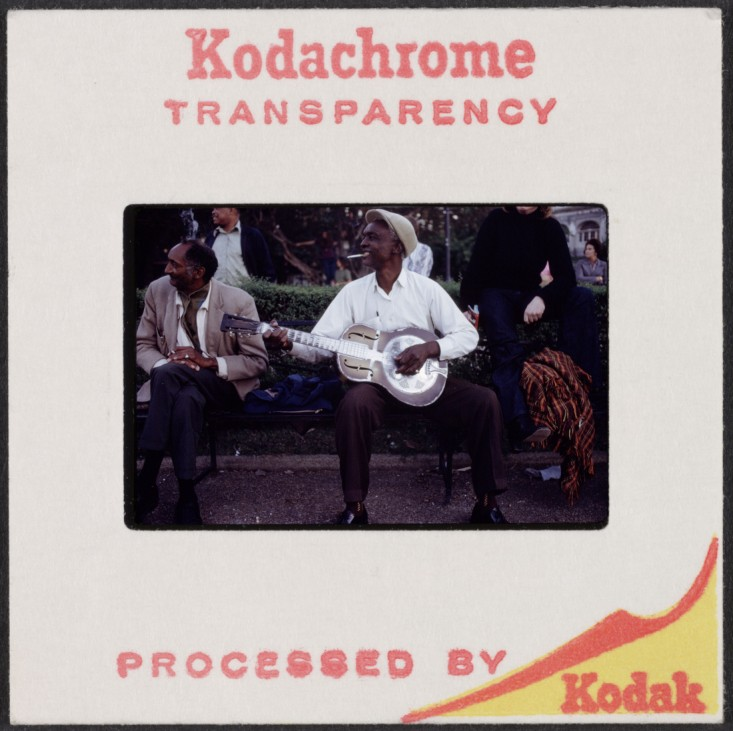 Kodachrome transparency, 1963-1972.