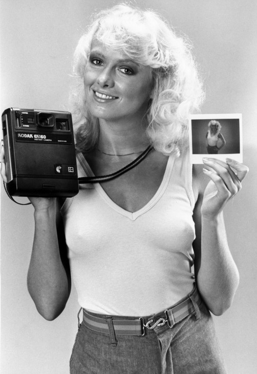 Kodak EK160 instant camera, December 1980.