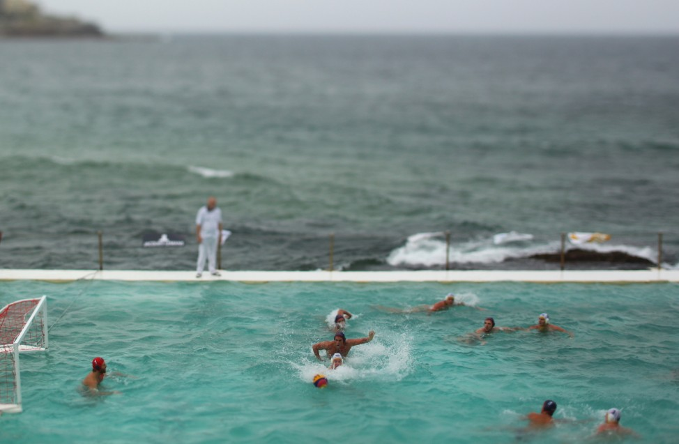 BESTPIX  Water Polo by the Sea - Australia v USA