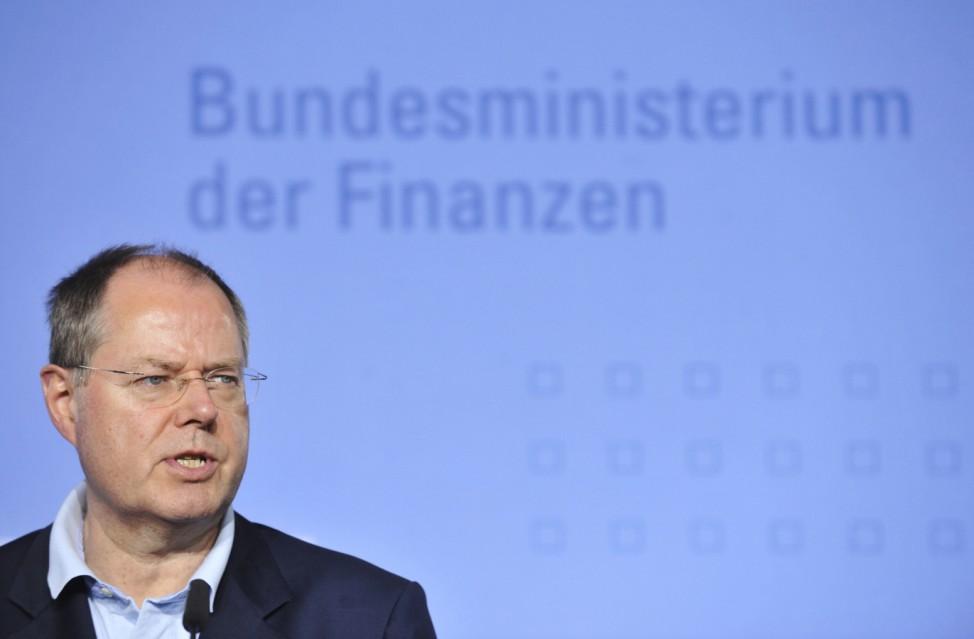 GERMANY-FINANCE-STEINBRUECK