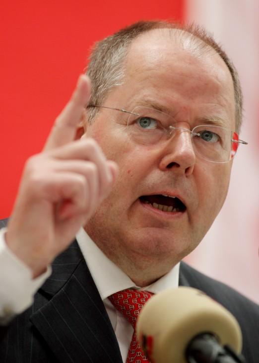 Maikundgebung mit Peer Steinbrück
