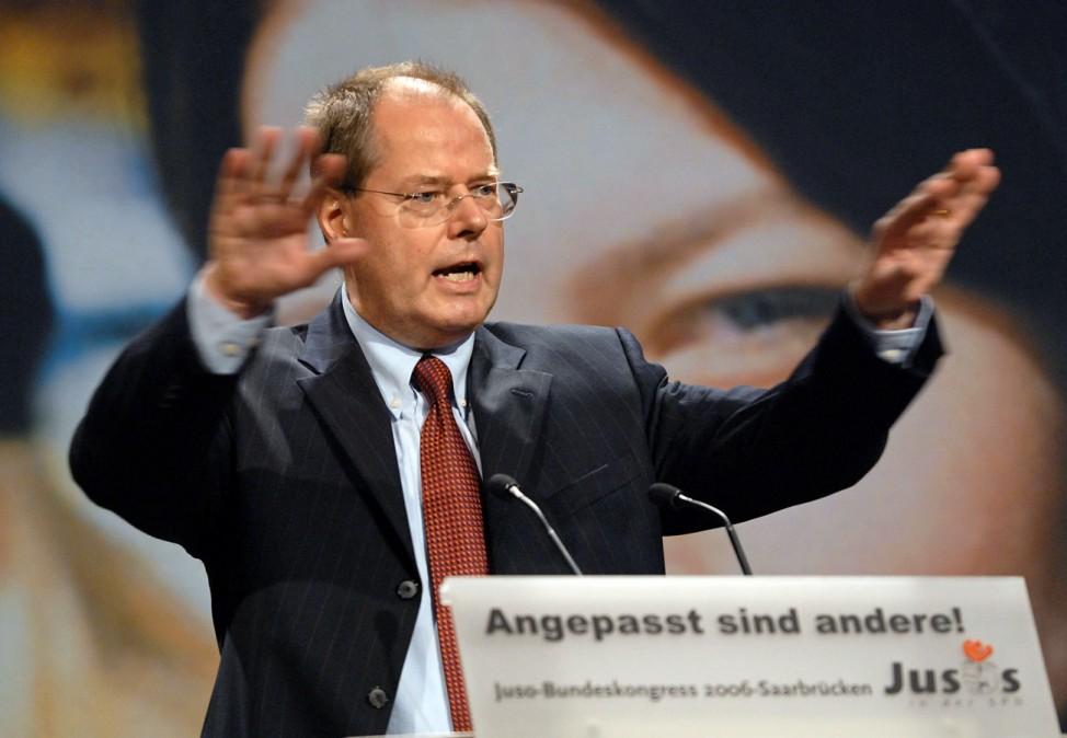 Juso-Bundeskongress - Steinbrück