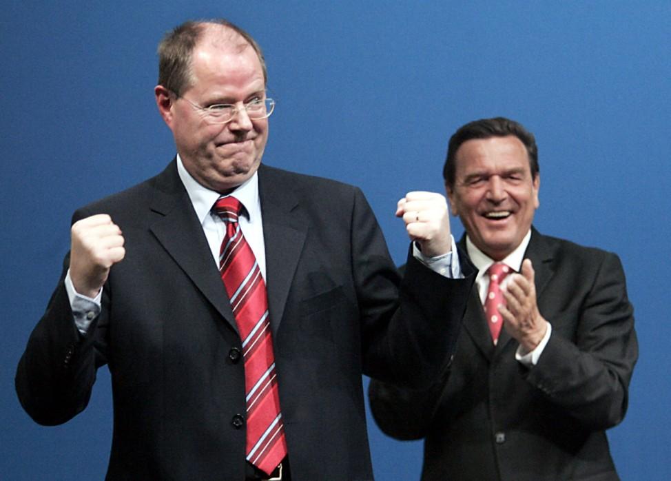 NRW Landtagswahl Steinbrück